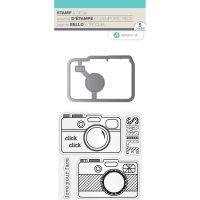 Hot Fudge Stamp & Die Set NOTM218929