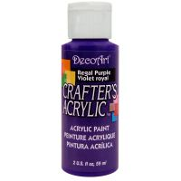 Deco Art Crafter's Acrylic Regal Purple Acrylic Paint NOTM227145
