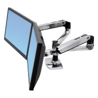 Ergotron LX Dual Side-by-Side Arm for WorkFit-D Sit-Stand Desk ERG45245026