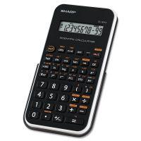 Sharp EL-501XBWH Scientific Calculator, 10-Digit LCD SHREL501XBWH