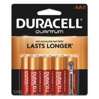 Duracell Quantum Alkaline Batteries, AA, 8/PK DURQU1500B8Z