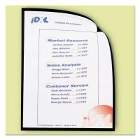 C-Line Magnetic Cubicle Keepers Display Holders, 9 13/64 x 11 11/16, Clear, 25/Pack CLI37991