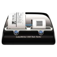 DYMO LabelWriter Twin Turbo Printer, 71 Labels/Min, 5 1/2w x 8 2/5d x 7 2/5h DYM1752266