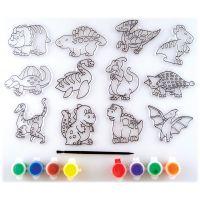 Kelly's Kidz Sparkle Dinosaur Suncatcher Activity Kit NOTM407365
