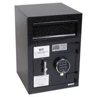 FireKing Depository Security Safe, 14 x 15 1/2 x 20, Black FIRSB2014BLEL