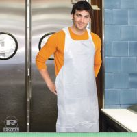 Royal Poly Apron, White, 28 in. x 46 in., 100/Pack, One Size Fits All, 10 Pack/Carton RPPDA2846