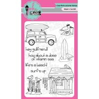 """Pink & Main Clear Stamps 4""""X6"""" NOTM375263"""
