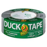 "Duck Brand Duct Tape, 1.88"" x 45yds, 3"" Core, Gray DUCB45012"
