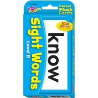 Trend Sight Words Level B Flash Cards TEP23028