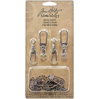 "Idea-Ology Swivel Clasp W/Chain 2.78"" To 3.75"" 12/Pkg NOTM359182"