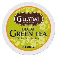 Celestial Seasonings Decaffeinated Green Tea K-Cups, 24/Box GMT14737