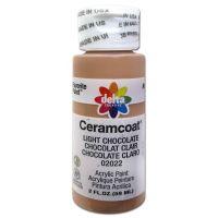 Ceramcoat Light Chocolate Acrylic Paint  NOTM131481