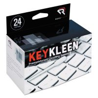 Read Right KeyKleen Premoistened Cleaning Swabs, 24/Box REARR1243
