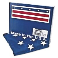 Advantus All-Weather Outdoor U.S. Flag, Heavyweight Nylon, 3 ft x 5 ft AVTMBE002460