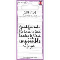Dovecraft Sentiment Clear Stamp NOTM276349