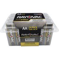 Rayovac Ultra Pro Alkaline Batteries, AA, 24/Pack RAYALAA24PPJ