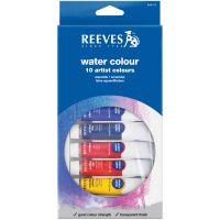 Reeves Watercolor Paints 22ml 10/Pkg NOTM368661