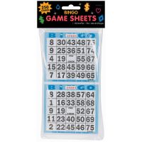 "Bingo Game Sheets 4""X8"" 125/Pkg NOTM340260"