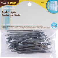 Ceiling Pleater Hooks 10/Pkg (4 Ends) NOTM103445