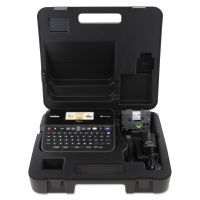 Brother P-Touch PT-D600VP PC-Connectable Label Maker with Color Display and Carry Case, Black BRTPTD600VP