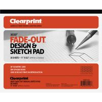 Clearprint Isometric Grid Paper Pad - Letter CLE932811ISO