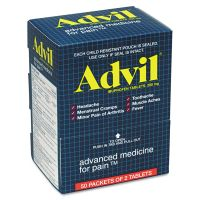 Advil Ibuprofen Tablets, Two-Packs, 50 Packs/Box PFI015489