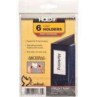 Cardinal HOLDit! Self-Adhesive Label Holders CRD21830
