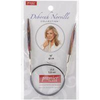 "Deborah Norville Fixed Circular Knitting Needles 16"" NOTM253317"