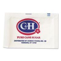 C&H Granulated Sugar Packets, .10 oz, 2000/Carton CNH845360