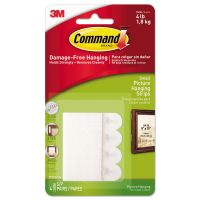 "Command Picture Hanging Removable Interlocking Fasteners, 5/8"" x 2 1/8"", Set of 4 MMM17202ES"