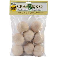 Darice Craftwood Ball Knob Wood Turning Shapes NOTM054410