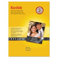 Kodak Ultra Premium Photo Paper, 10 mil, High-Gloss, 8-1/2 x 11, 25 Sheets/Pack KOD8366353