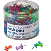 OIC Translucent Push Pins OIC35710