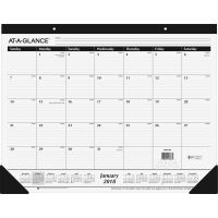 At-A-Glance Classic Monthly Calendar Desk Pad AAGSK240018