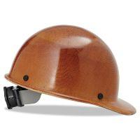 MSA Skullgard Protective Hard Hats, Ratchet Suspension, Size 6 1/2 - 8, Natural Tan MSA475395