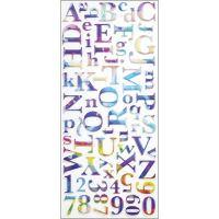 Sticko Alphabet Stickers NOTM207101