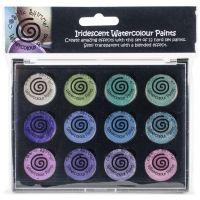 Cosmic Shimmer Iridescent Watercolor Palette Set 4 NOTM248200