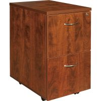 Lorell Essentials 2-Drawer Mobile File Cabinet LLR69431