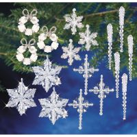 Holiday Beaded Ornament Kit Collection NOTM384659