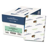 Hammermill Recycled Colored Paper, 20 lb, 8 1/2 x 11, Green, 500 Sheets/Ream HAM103366