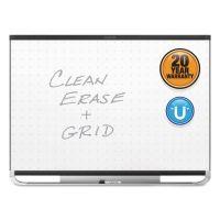 Quartet Prestige 2 Magnetic Total Erase Whiteboard, 48 x 36, Black Frame QRTTEM544B