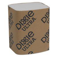 """Dixie Ultra Interfold Napkin Refills Two-Ply, 6 1/2"""" x 9 7/8"""", White, 6000/Carton GPC32006"""