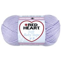 Red Heart Soft Baby Steps Yarn - Lavender NOTM395837