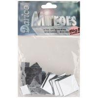 Square Glass Mirrors 25/Pkg NOTM409561