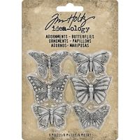 "Idea-Ology Metal Adornments 1"" 6/Pkg NOTM318806"