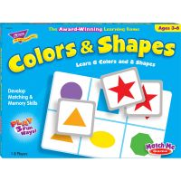 Trend Colors/Shapes Match Me Learning Game TEP58103