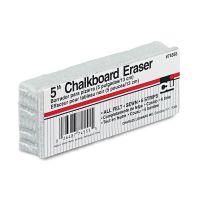 Charles Leonard 5-Inch Chalkboard Eraser, Wool Felt, 5w x 2d x 1h LEO74555