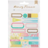 American Crafts Memory Planner Label Stickers NOTM056519