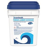 Boardwalk Laundry Detergent Powder, Crisp Clean Scent, 18  lb Pail BWK340LP