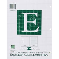 Roaring Spring Engineer Calculation Pads - Letter ROA95582